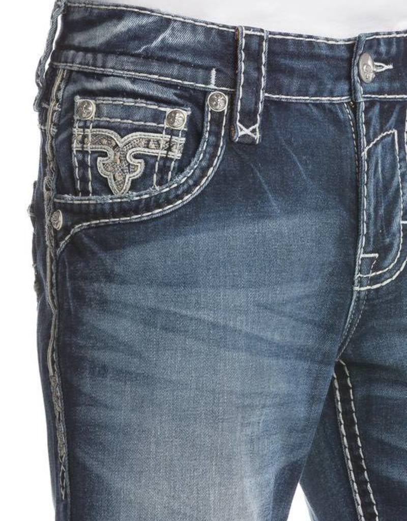 Rock Revival Rock Revival Abijah Straight Cut Jean