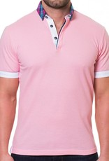Maceoo Maceoo Picque Pink Polo