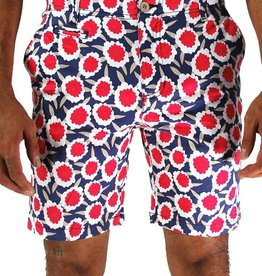 Oxford Lad Oxford Lad Red Flower Shorts