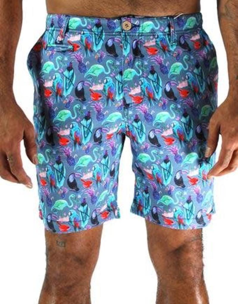 Oxford Lad Oxford Lad Short Bird Shorts