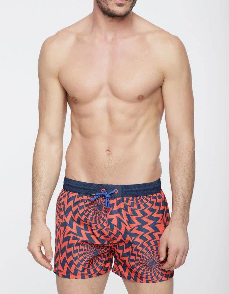 Diesel Diesel BMBX Sandy Cherry Retro Boxer Short Swim