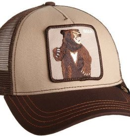 Goorin Bros Brown Lone Star Bear Cap