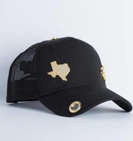 Red Monkey Red Monkey Black Lone Star LTD Cap