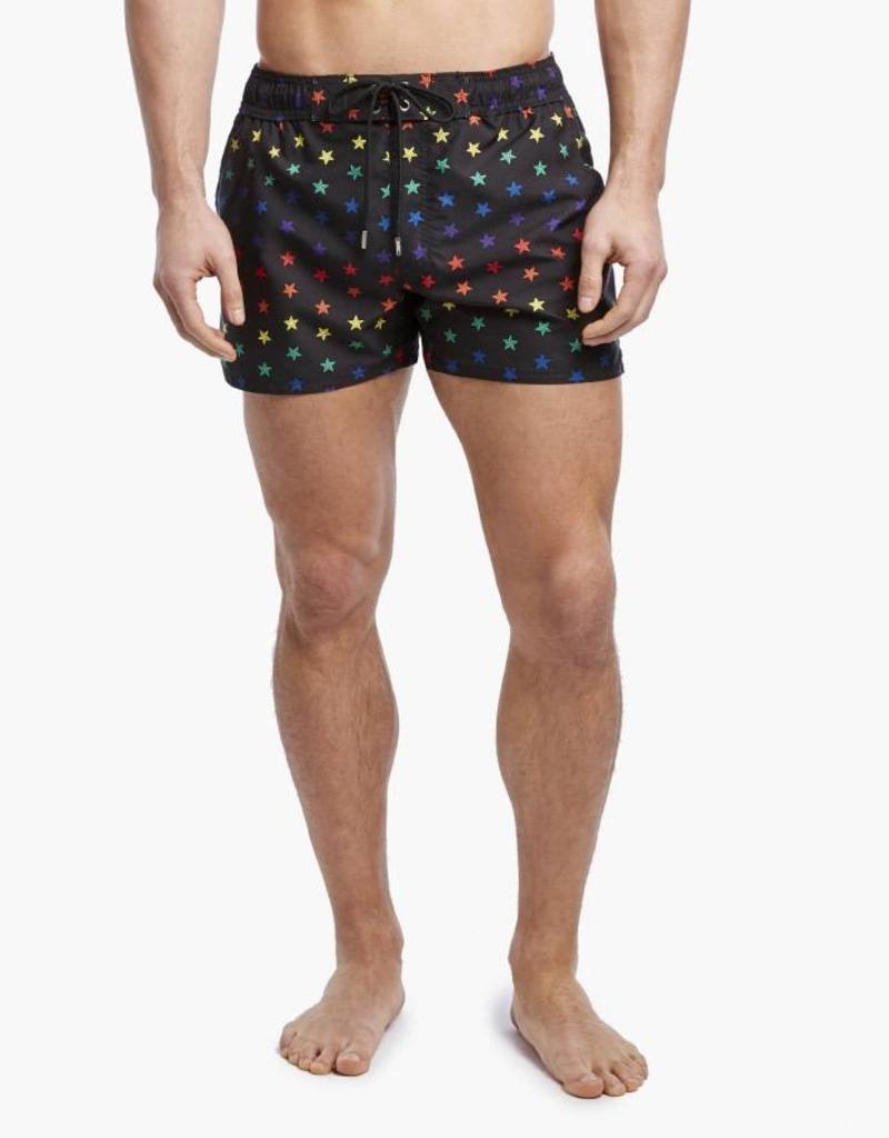 afaca675fdaab 2(X)ist Pride Stars Ibiza Swim Shorts - Outlines Menswear LLC