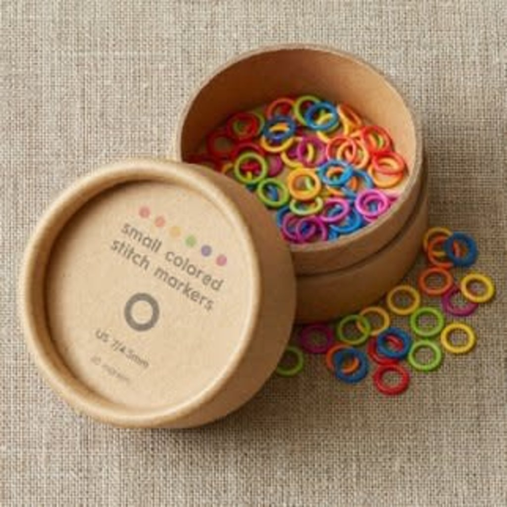 Cocoknits Coloured Ring Stitch Markers Small