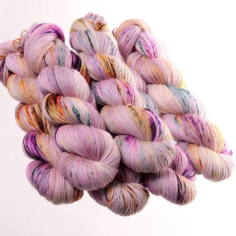 Hedgehog Fibres Sock - Iris