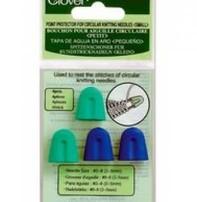 Clover Clover Circular Point Protectors (3004)