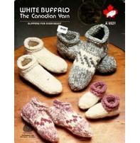 Art of Yarn Vintage Pattern * - Cowichan Style Slippers (PDF)