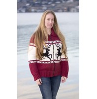Art of Yarn Vintage Pattern* - Sweater with Jumping Reindeer
