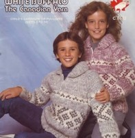 Art of Yarn Vintage Pattern* - Cowichan Style Sweater For Sizes 2 - 8 (PDF)