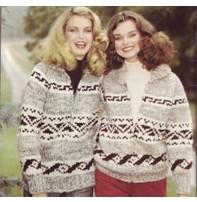 Art of Yarn Vintage Pattern* - Jacket With Geometric Design (PFD)