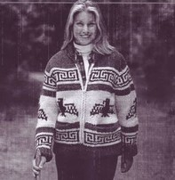 Art of Yarn Vintage Pattern* - Sweater with Eagle