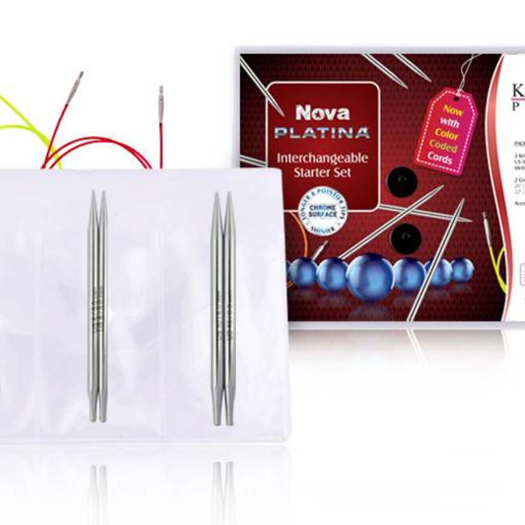 Knitter's Pride Nova Normal Length Interchangeable (IC) Needle Starter Set