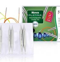 Knitter's Pride Nova Platina Normal Length IC Needle Chunky Set