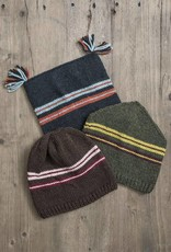 Blue Sky Fibers BSF - Ski Trio Hat Green
