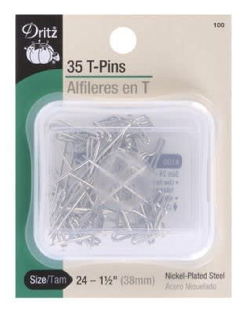 Dritz Dritz T Pin - 38 mm Size 24 (35 Pack)
