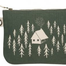 Danica Retreat Large Zippered Pouch