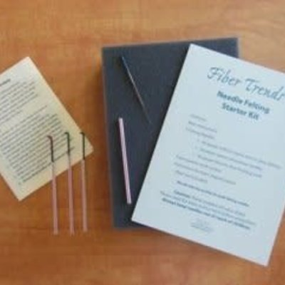 Fiber Trends Inc. Needle Felting Starter Kit