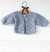 Churchmouse Yarns & Teas Churchmouse - Blossom Baby Sweater