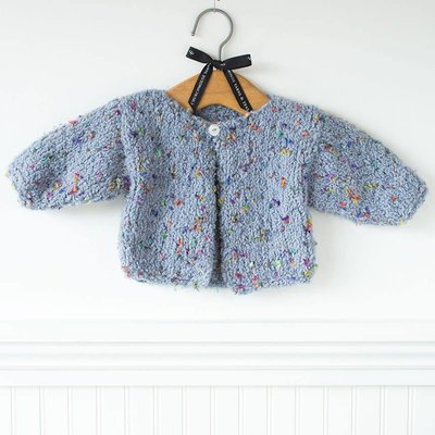 Churchmouse Yarns & Teas Churchmouse - Blossom Baby Sweater
