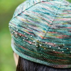 Churchmouse Yarns & Teas Churchmouse - Koigu Beaded Beret