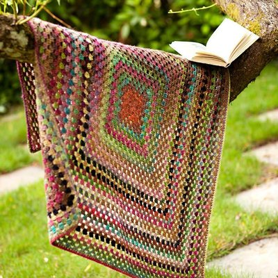 Churchmouse Yarns & Teas Churchmouse - One Big Granny Square