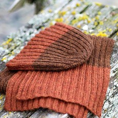 Churchmouse Yarns & Teas Churchmouse - Pressed Rib Cap & Muffler
