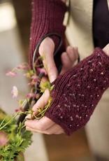 Churchmouse Churchmouse - Lace-Back Fingerless Gloves
