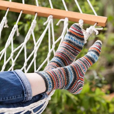 Churchmouse Simple Toe Up Sock
