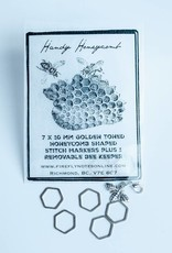 Firefly Firefly Notes - Handy Honeycomb Stitch Markers
