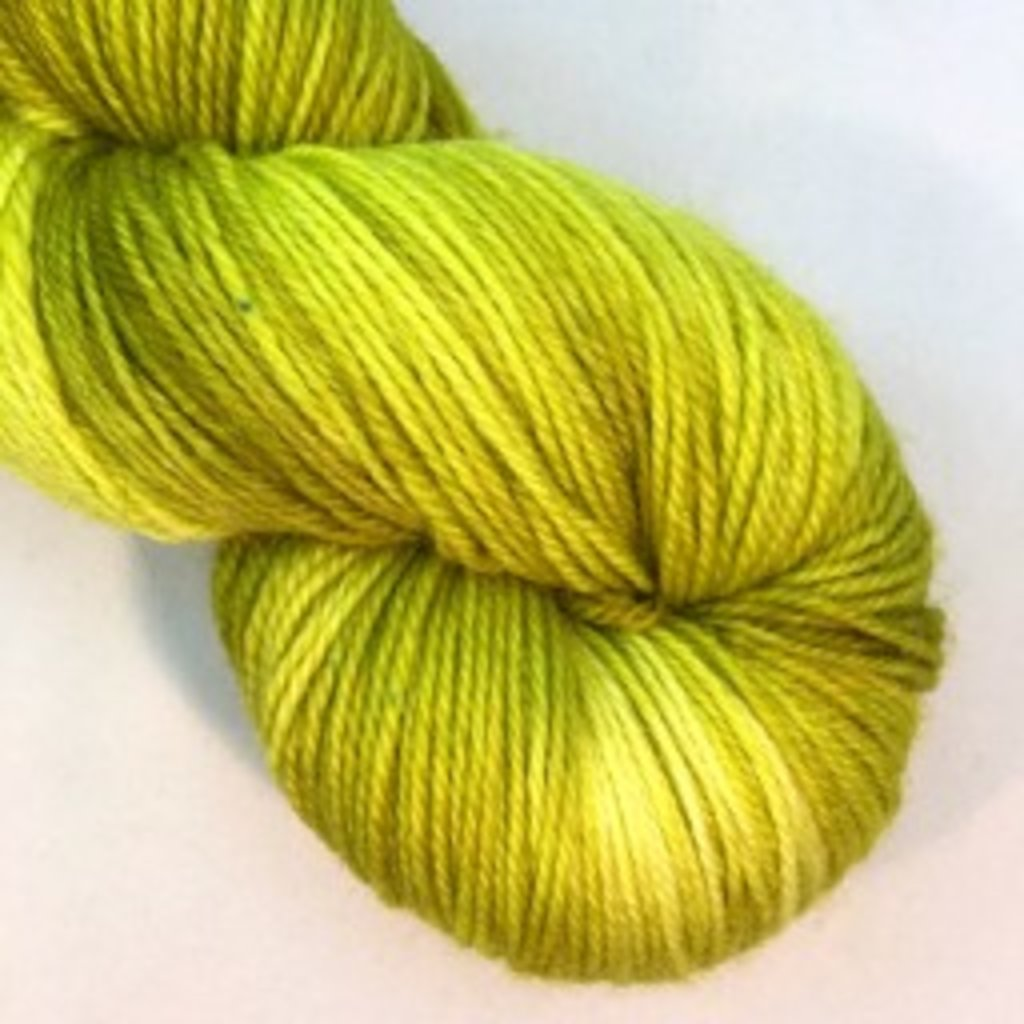 Lichen And Lace Lichen & Lace 80-20 Sock - Citron