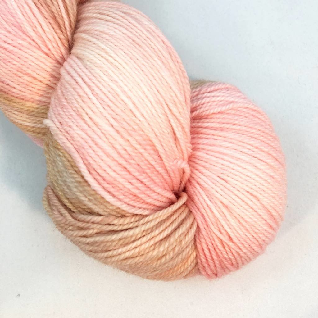 Lichen And Lace 80/20 Sock - Faded Rose