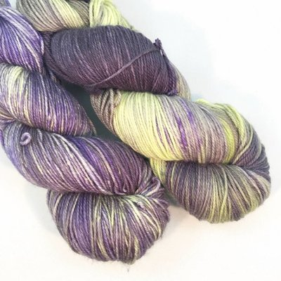 Lichen And Lace Lichen & Lace 80-20 Sock - Baby Eggplant