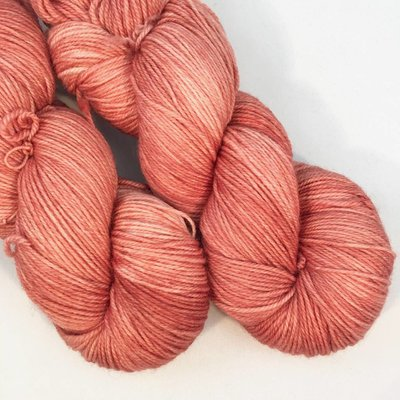 Lichen And Lace Lichen & Lace 80/20 Sock - Coral