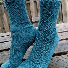 Lichen And Lace Lichen & Lace 80-20 Sock - I See Seashells