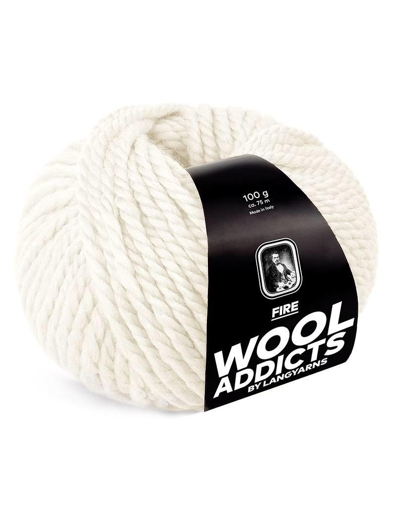 Lang Wool Addicts - Fire