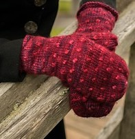 Fleece Artist Classic Thrum Mitts