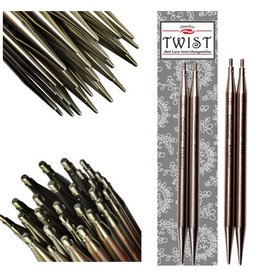 """ChiaoGoo TWIST SS Red Lace Tips - 5"""" (Small)"""