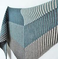 Art of Yarn Kite Runner Shawl (Intarsia) - Monday Morning