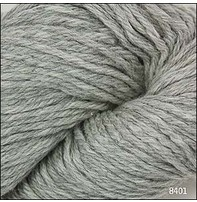 Cascade Cascade 220 Heathers - Silver Grey (8401)