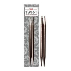 "ChiaoGoo TWIST SS Red Lace Tips - 4"" (Large)"