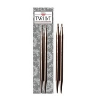 "ChiaoGoo TWIST SS Red Lace Tips - 5"" (Mini)"