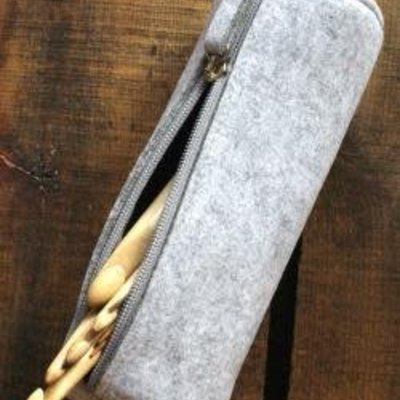 NNK Press Felt Notions Pouch