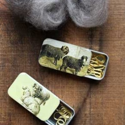 Firefly Notes Vintage Sheep Tin - Removable
