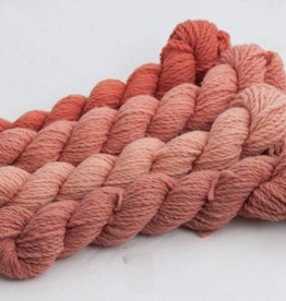 Custom Woolen Mills Mule Spinner Naturally Dyed Bundle