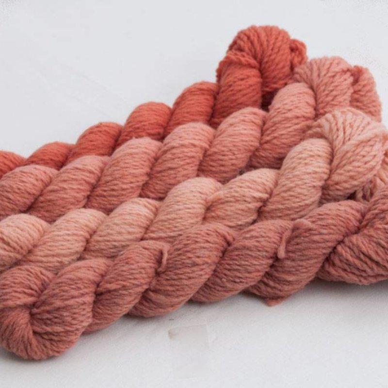 Custom Woolen Mills Mule Spinner Naturally Dyed Bundle