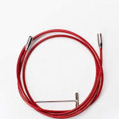 ChiaoGoo Interchangeable Red Cables (Small)