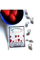Firefly Notes Sweet Strawberries Stitch Markers