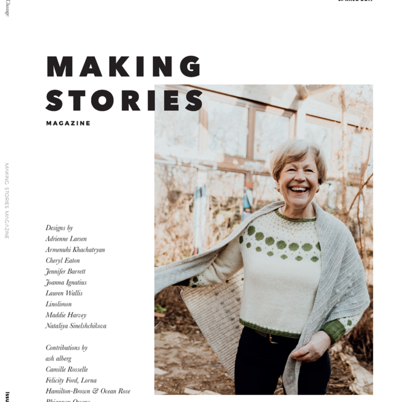 Making Stories - Issue 1 Spring 2019