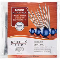 "Nova Double Pointed 5"" Sock Needle Set"